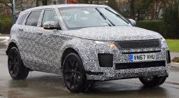 Land Rover вывел на тесты новый Range Rover Evoque