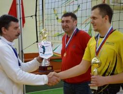Команда Брянскэнерго заняла первое место в соревнованиях по волейболу