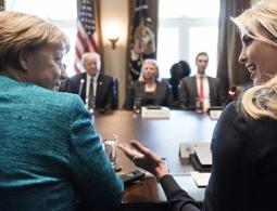 Меркель пригласила дочь Трампа на саммит в Германию