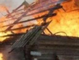 В Унече пои пожаре пострадал человек