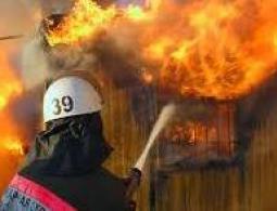 В Советском районе сгорела дача