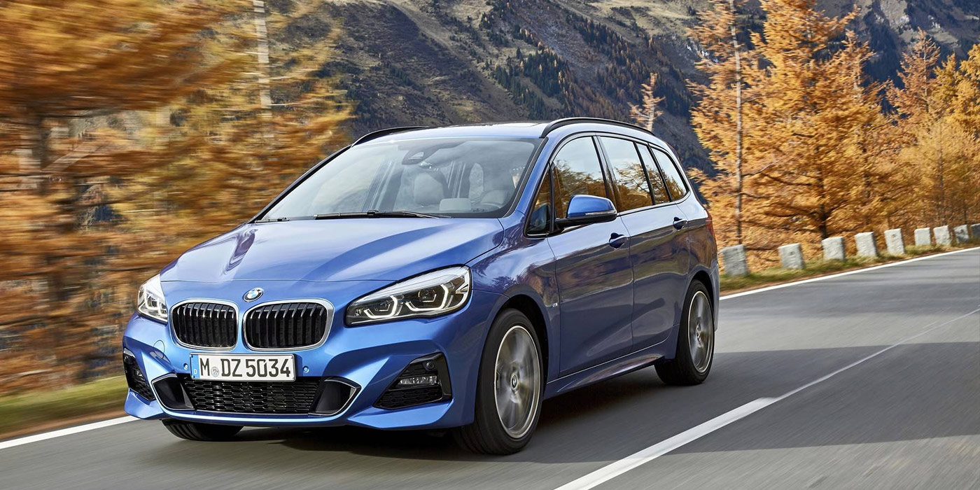 BMW 2-Series Active Tourer обновился и получил «робот»
