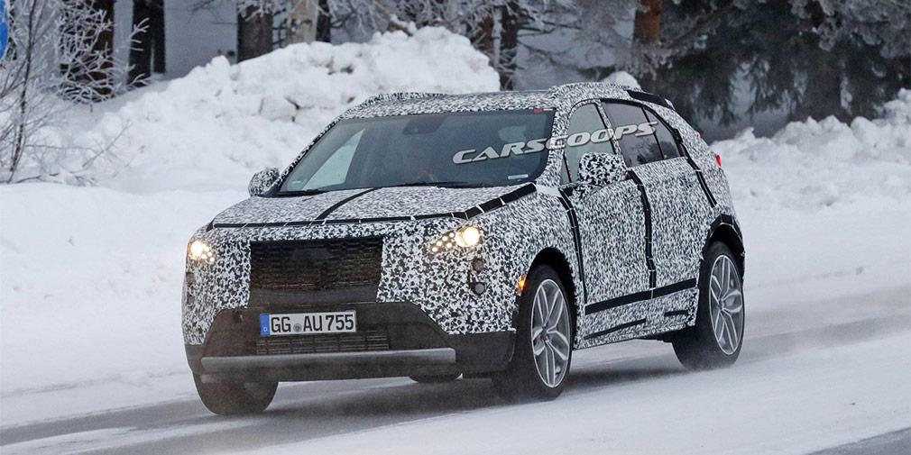 Cadillac вывел на финальные тесты новый компактный кроссовер