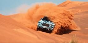 Видео: Rolls-Royce испытал в пустыне свой первый кроссовер