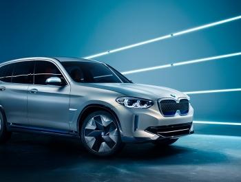 BMW представила новый электрический кроссовер