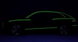 Audi опубликовала первое изображение нового кроссовера