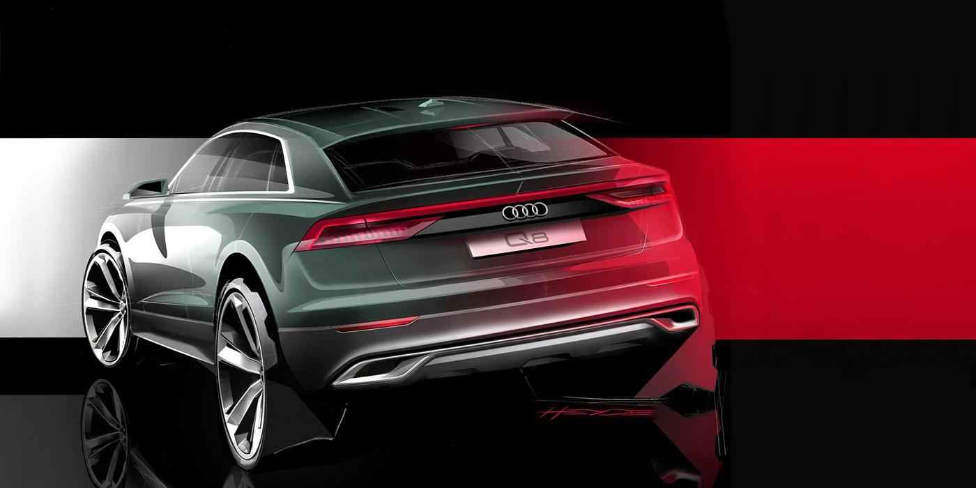 Audi анонсировала новый флагманский кроссовер