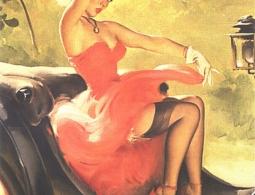 """Выставка """"Пин-ап. Девушки с обложки"""". Пикантный взгляд на XX век."""