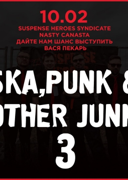 SKA, PUNK AND OTHER JUNK-3