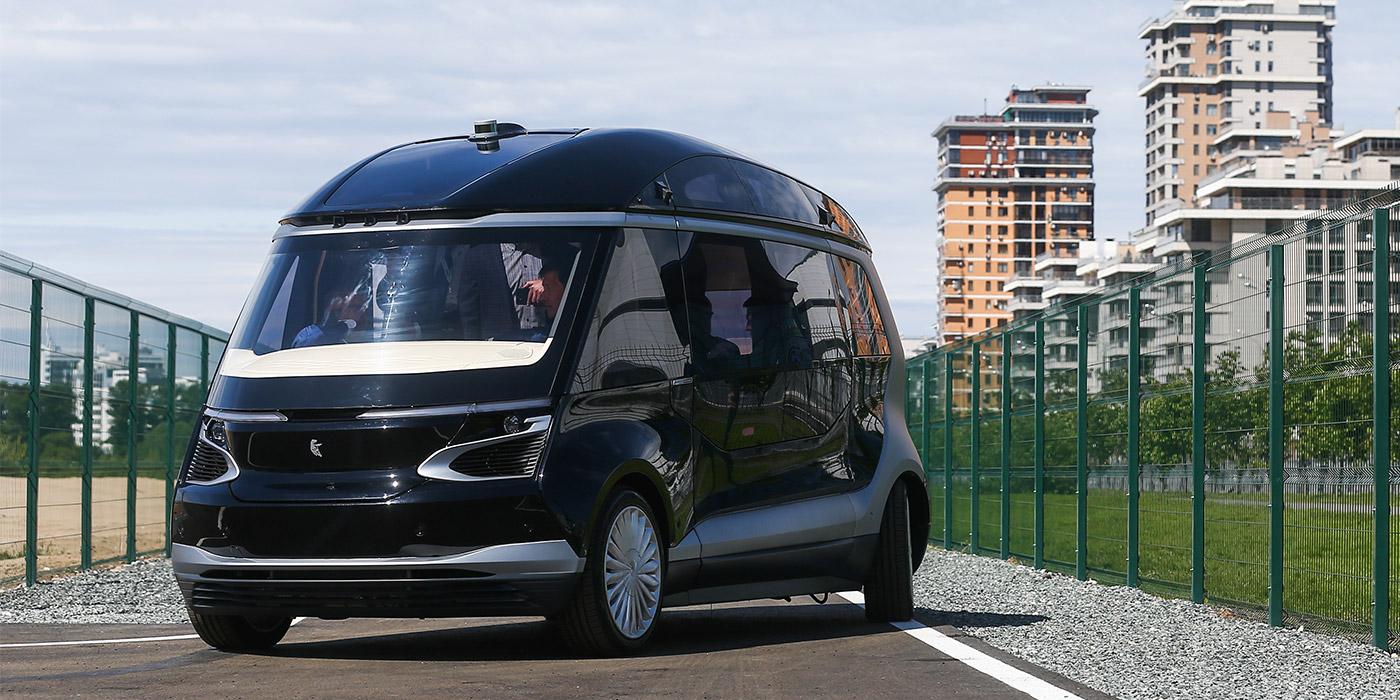 КамАЗ представил беспилотный электробус