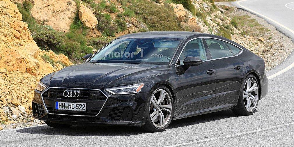Дизайн спортивной версии Audi A7 рассекретили до премьеры