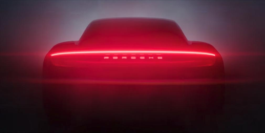 Видео: Porsche показала силуэт своего первого серийного электрокара