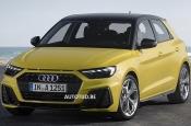 Дизайн хэтчбека Audi A1 нового поколения рассекретили до премьеры