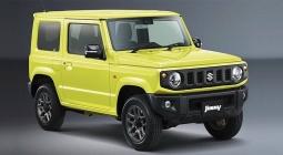 Suzuki показала новый Jimny