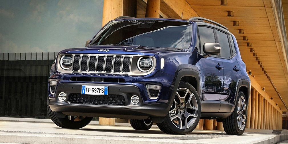 Jeep рассказал об обновленном кроссовере Renegade
