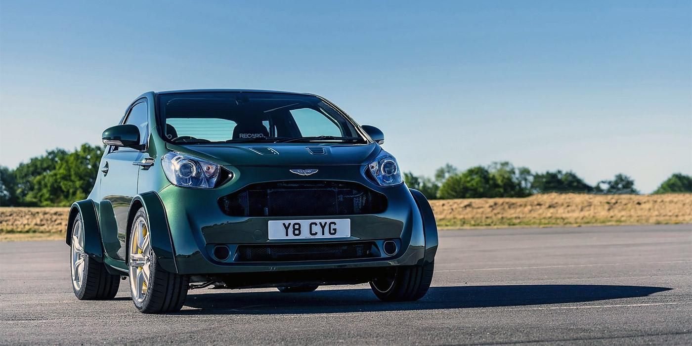 Aston Martin представил 420-сильный хэтбчек