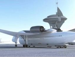 Летающие автомобили уже близко. А как вам концепт «летающего поезда»?