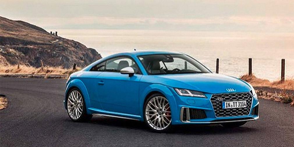 Обновленную Audi TT рассекретили до премьеры