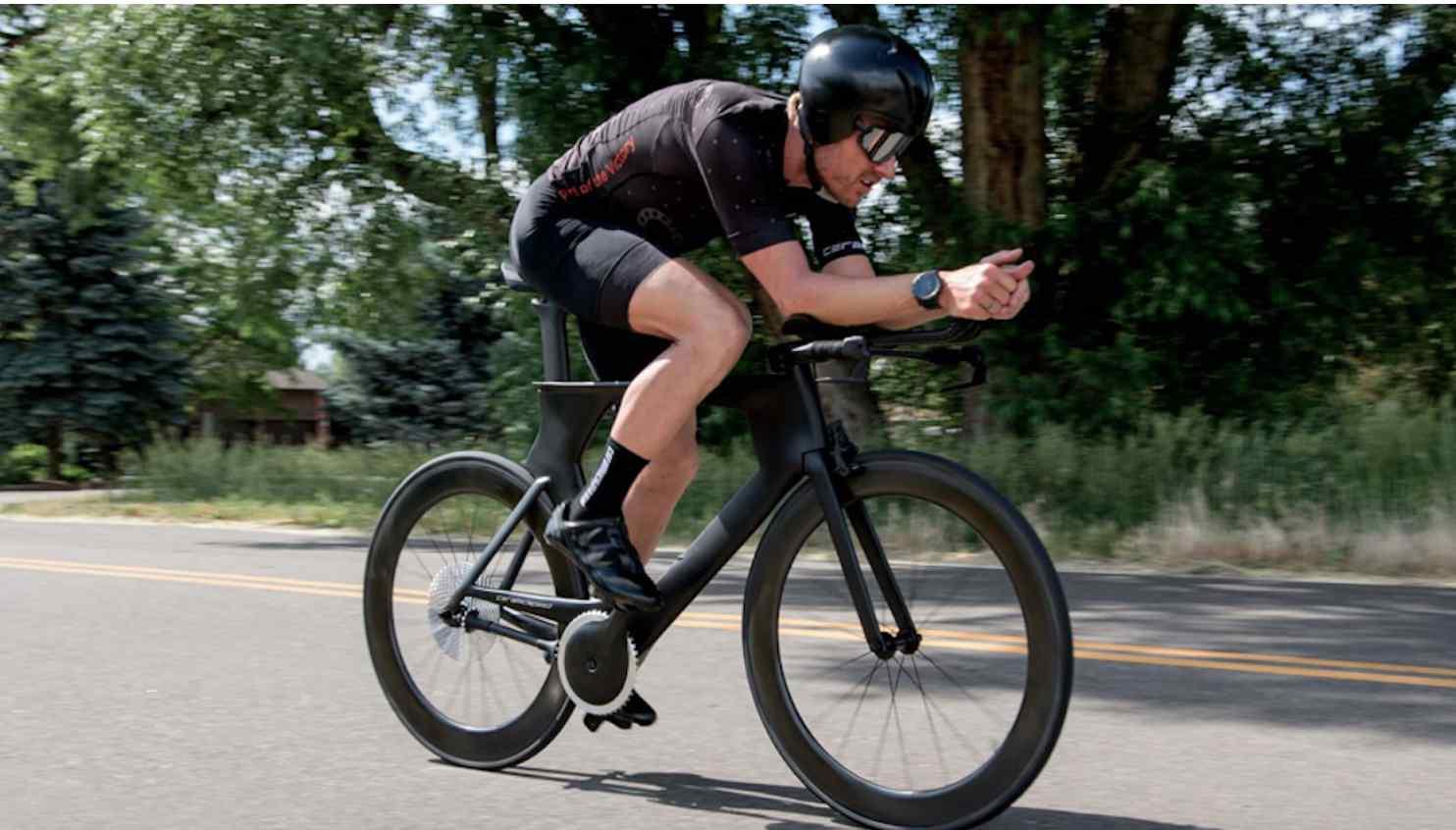 Driven: первый велосипед без цепей