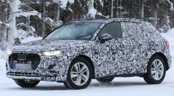 Audi Q3 нового поколения испытали в зимних условиях