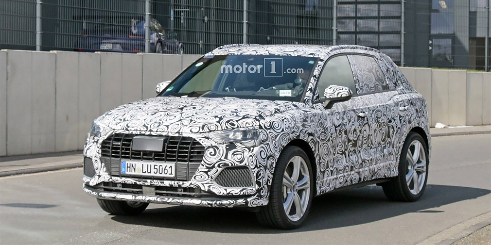 Спортивную версию Audi Q3 нового поколения показали на видео