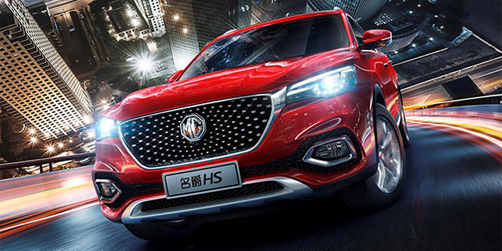 Марка MG выпустила конкурента Nissan Qashqai