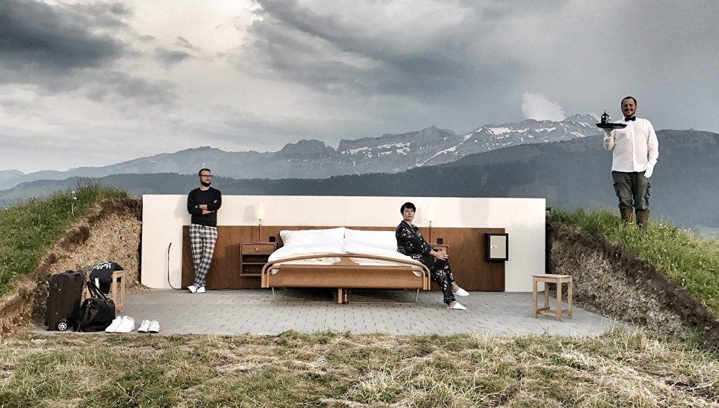 В Швейцарии открылся отель