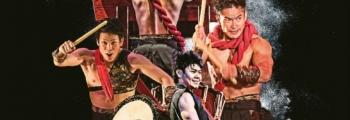 Шоу японских барабанщиков