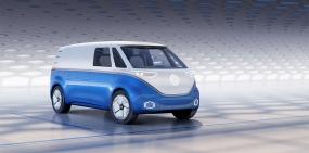Volkswagen выпустил электрический фургон с 550-километровым запасом хода