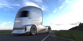 Ford представил электрический грузовик с автопилотом