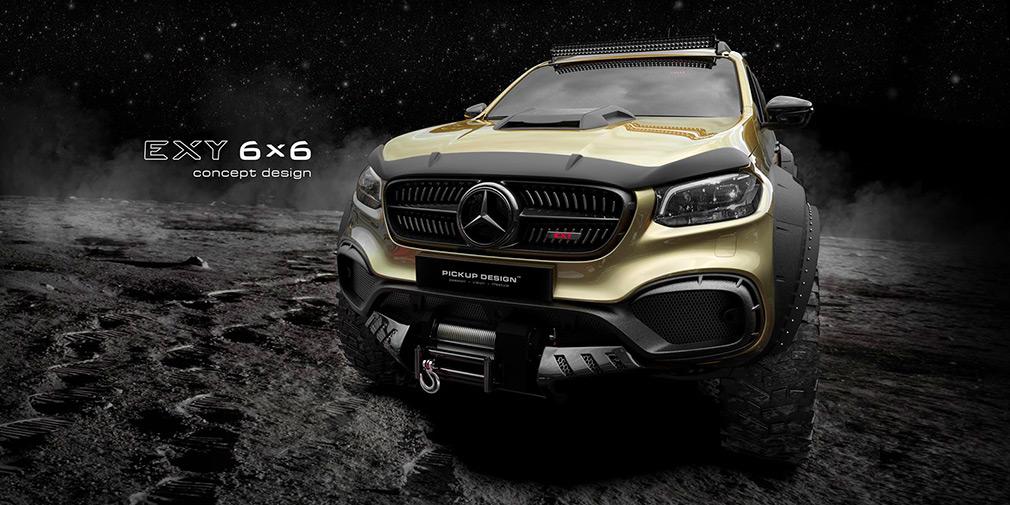 Mercedes-Benz X-Class получит шестиколесную версию