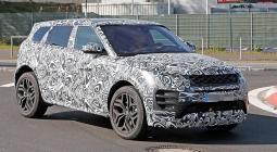 Новый Range Rover Evoque испытали на Нюрбургринге