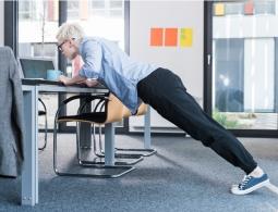 «Как заниматься фитнесом в офисе?»