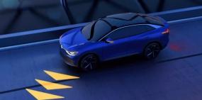 Автомобили Volkswagen научатся проецировать изображения на дорогу