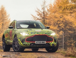 Aston Martin опубликовал фотографии своего первого кроссовера
