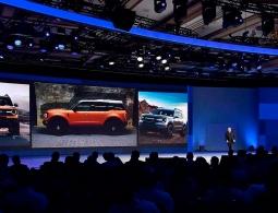В сети появились фотографии нового кроссовера Ford