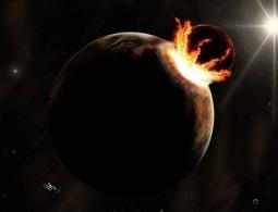 Экзопланета испаряется. И по космическим меркам – очень быстро!