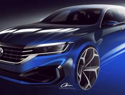 Volkswagen показал первые изображения нового Passat