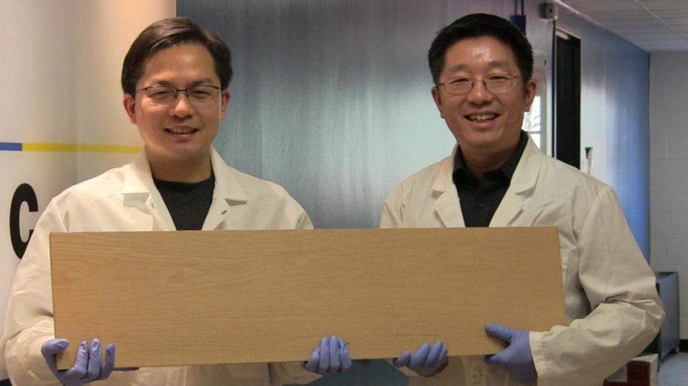 Создана супердревесина, по прочности сравнимая с металлом