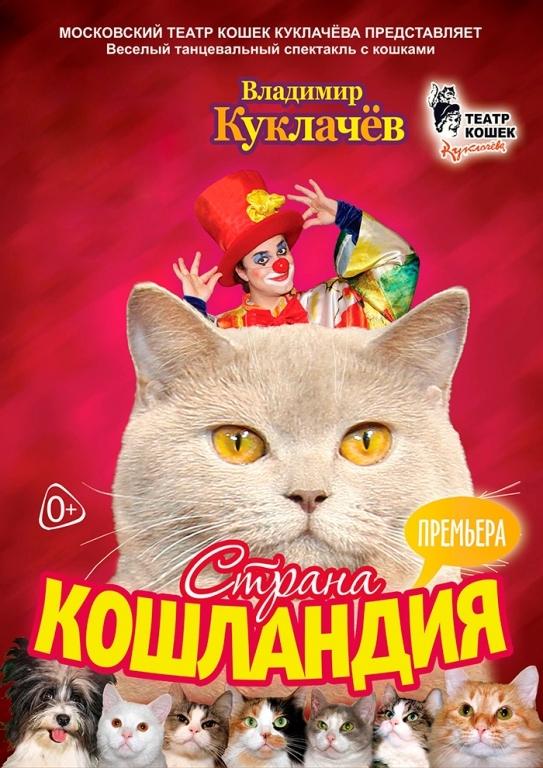 Страна кошландия   Московский театр кошек Ю.Куклачева