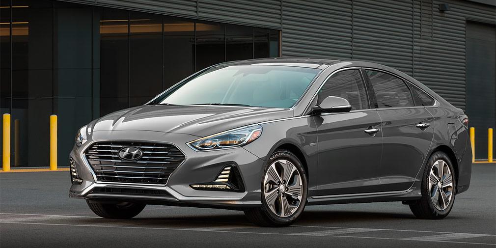Hyundai обновил гибридные Sonata