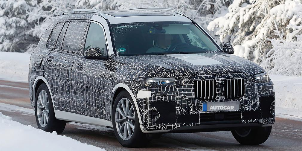 BMW покажет свой самый большой кроссовер в ноябре
