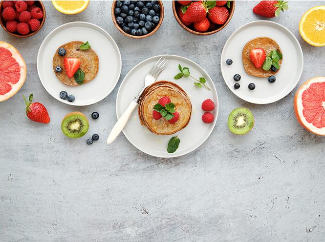 6 рецептов диетических блинов