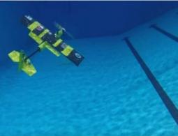 EagleRay: дрон, способный одинаково хорошо и плавать под водой, и летать в воздухе
