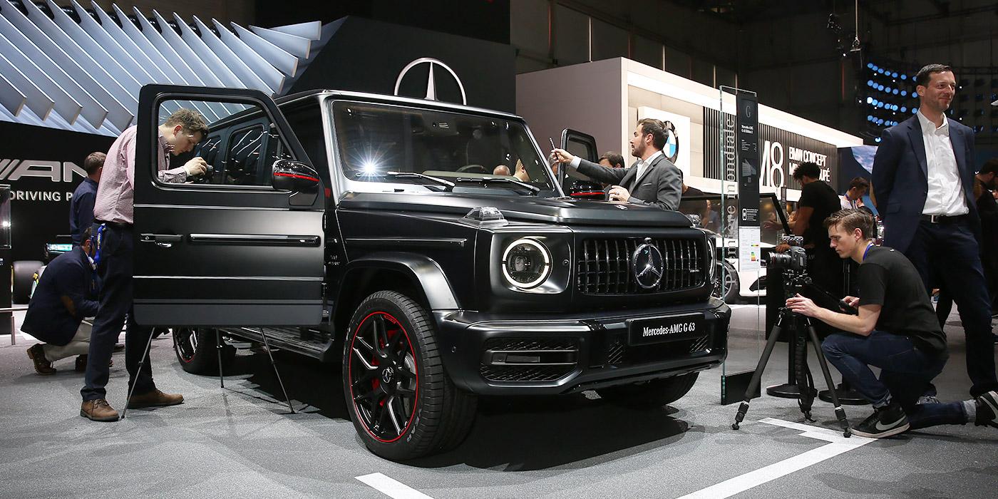 Mercedes-AMG G63: как раньше, только еще мощнее