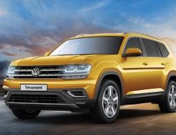 Volkswagen объявил российские цены на новый кроссовер Teramont