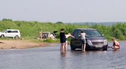 Штраф за мойку автомобиля в реке предложили увеличить в 10 раз
