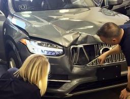 Смертельное ДТП с участием беспилотного Uber попало на видео