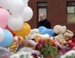 Путин объявил 28 марта днем траура в связи с трагедией в Кемерово